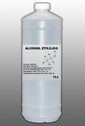 ALCOHOL ETILICO PURO 1 Lt