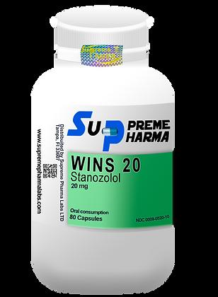 WINS WINSTROL STANOZOLOL 20mg (80Caps)