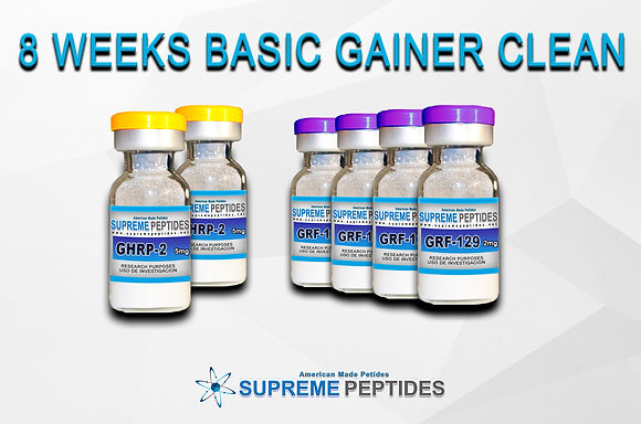 8 WEEKS BASIC GAINER CLEAN