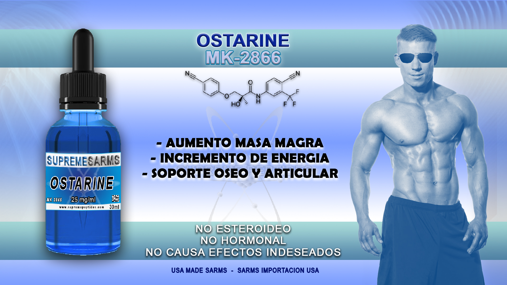 OSTARINE - MK2866 (25mg/ml)
