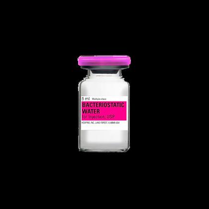 Agua Bactereostática - Bactereosatic Water 5ml