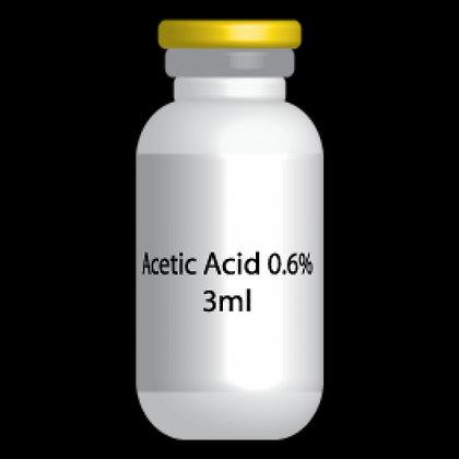 Acido Acetico 0.6% - Acetic Acid 0.6% 2ml