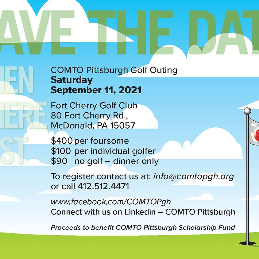 2021 COMTO Pittsburgh Golf Outing
