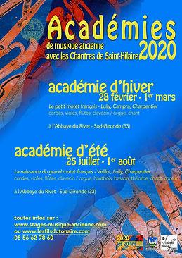 academies musique ancienne