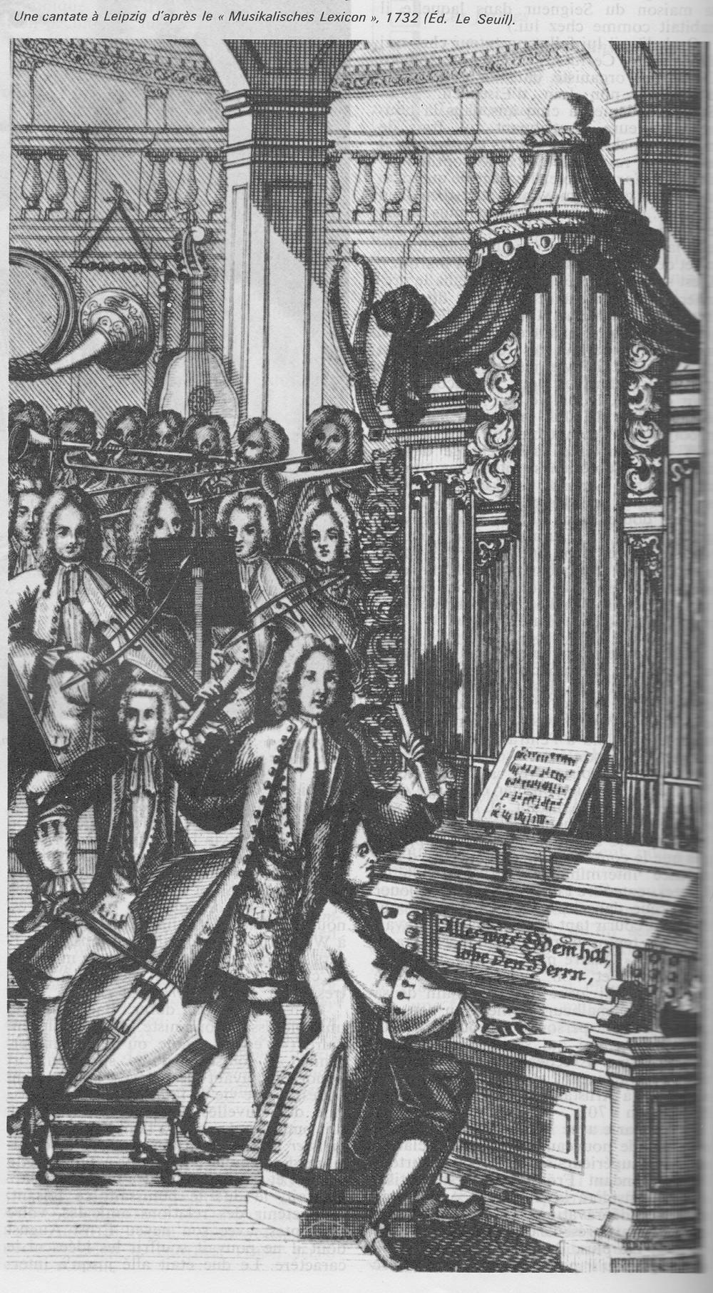 Une cantate à Leipzig en 1732