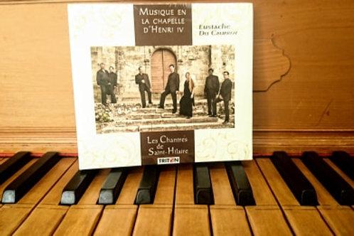 """CD """"Musique en la Chapelle d'Henri IV"""" - 15 €"""