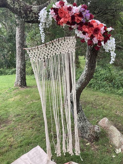Butterfly Wedding Curtain