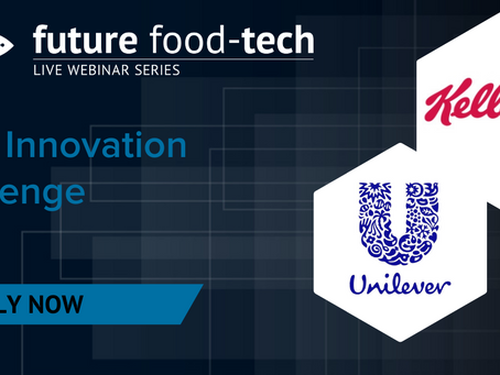 Innovation Challenge 2021 hosted by Future Food-Tech, Kellogg Company and Unilever