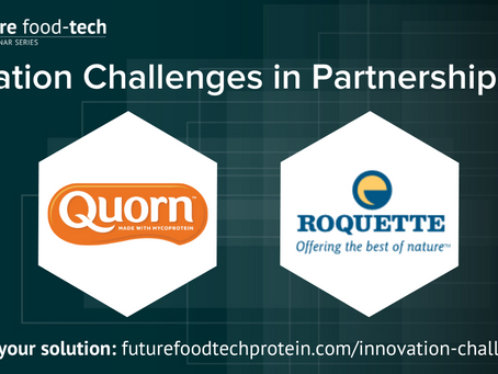 Future Food-Tech Innovation Challenges: Quorn Foods & Roquette