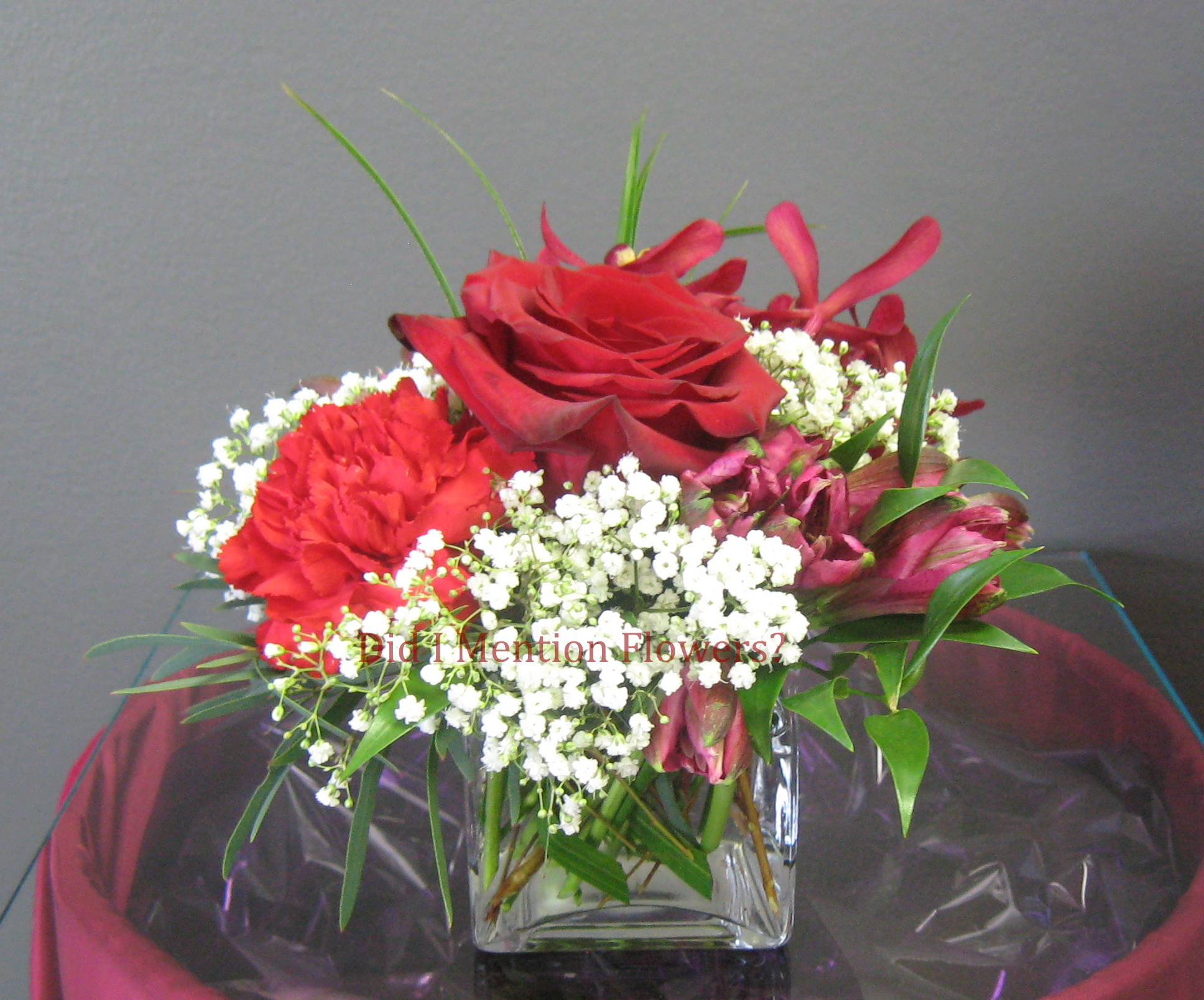 8 - Glass Vase Arrangement