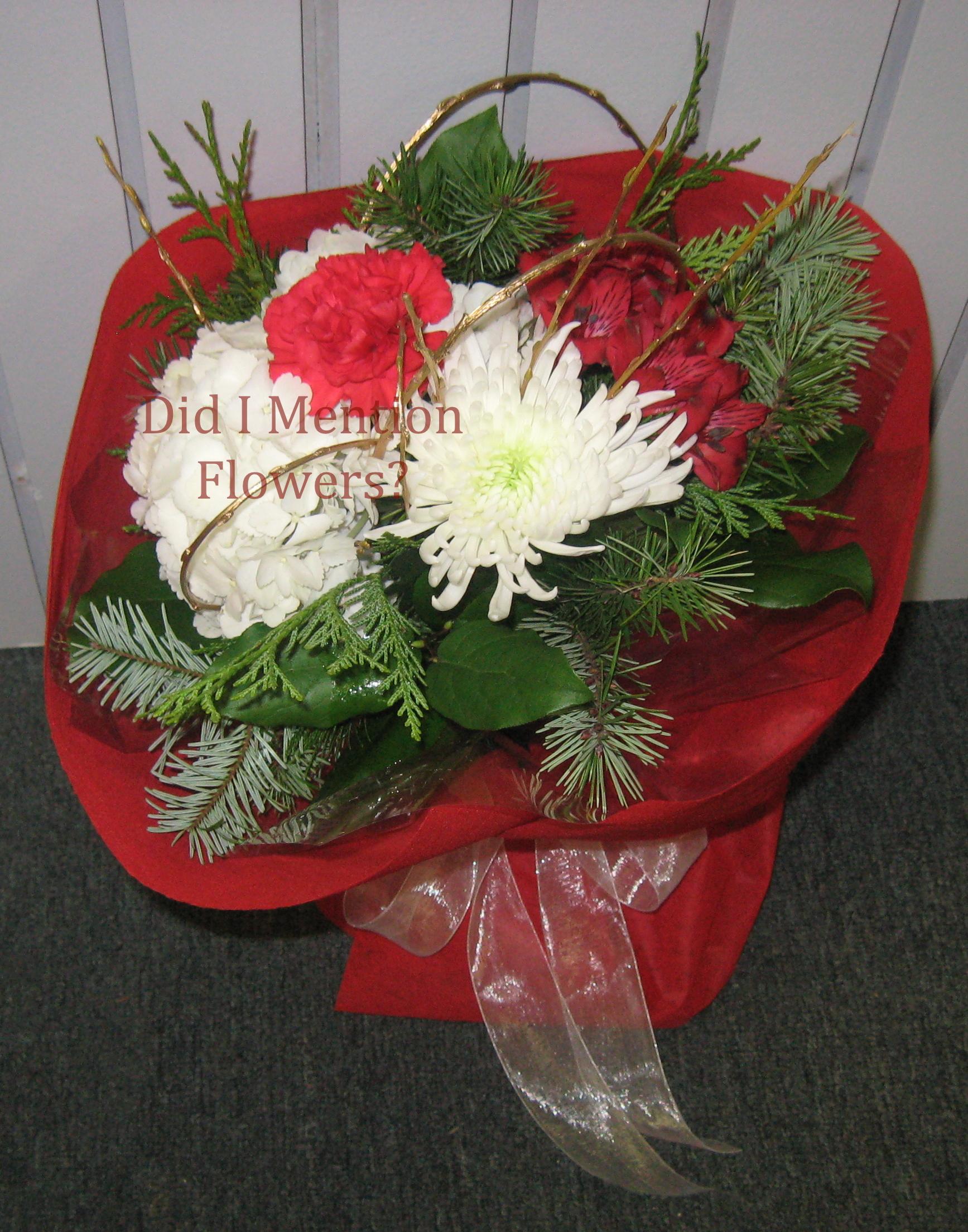 7 - Handtied Presentation Bouquet