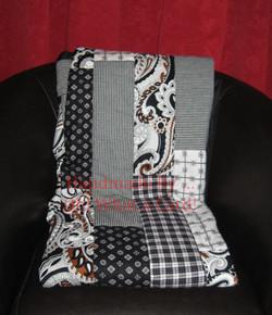 1 - Black & White Reversible Quilt