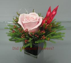 13 - Valentine's Day Rose Cube
