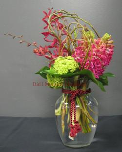 7 - Glass Vase Arrangement