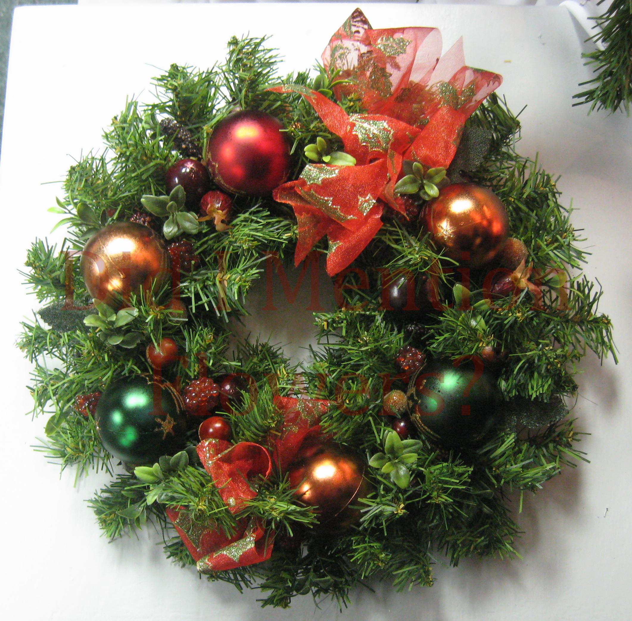 5 - Small Artificial Wreath