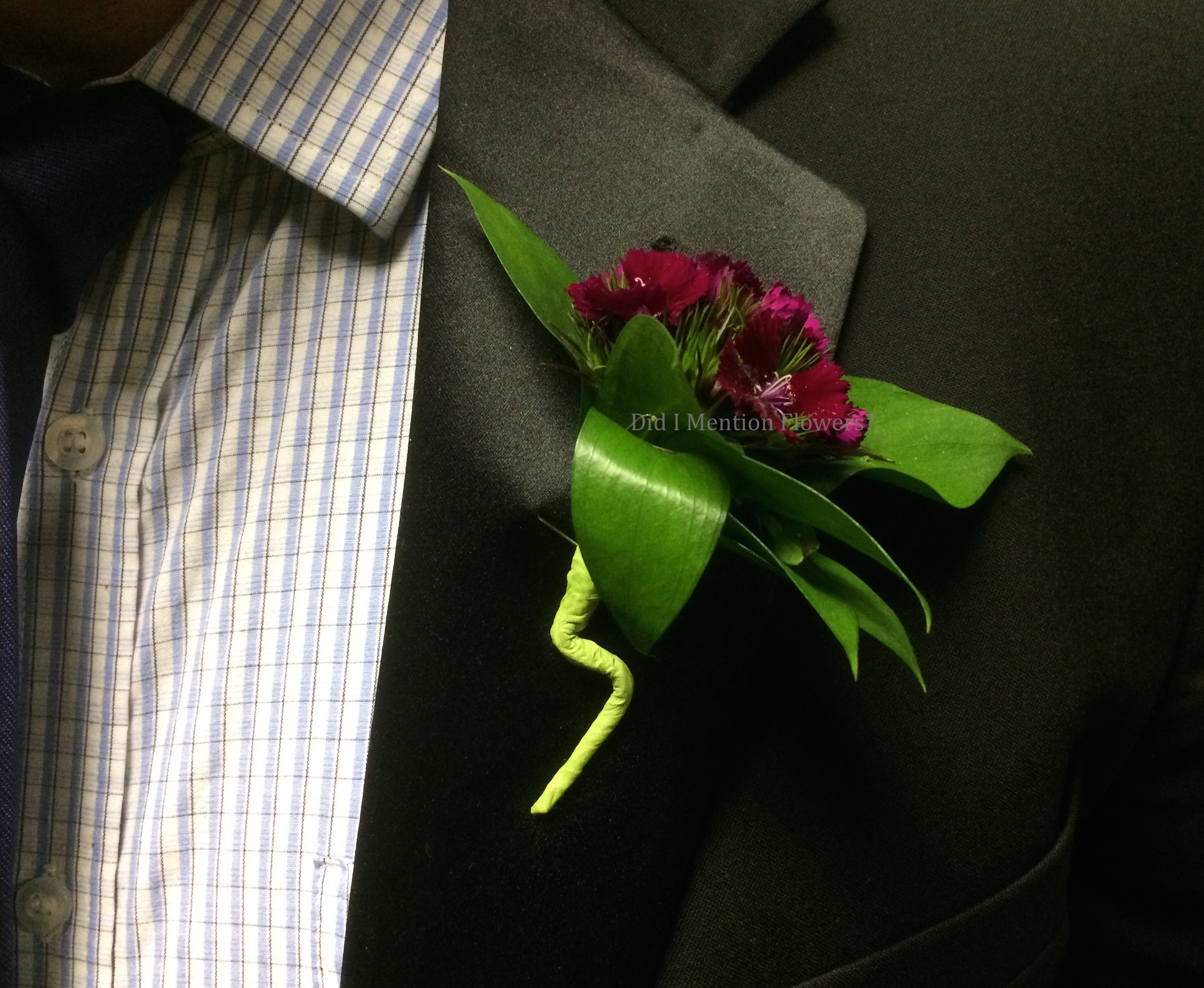 14 - Special Order Boutonniere