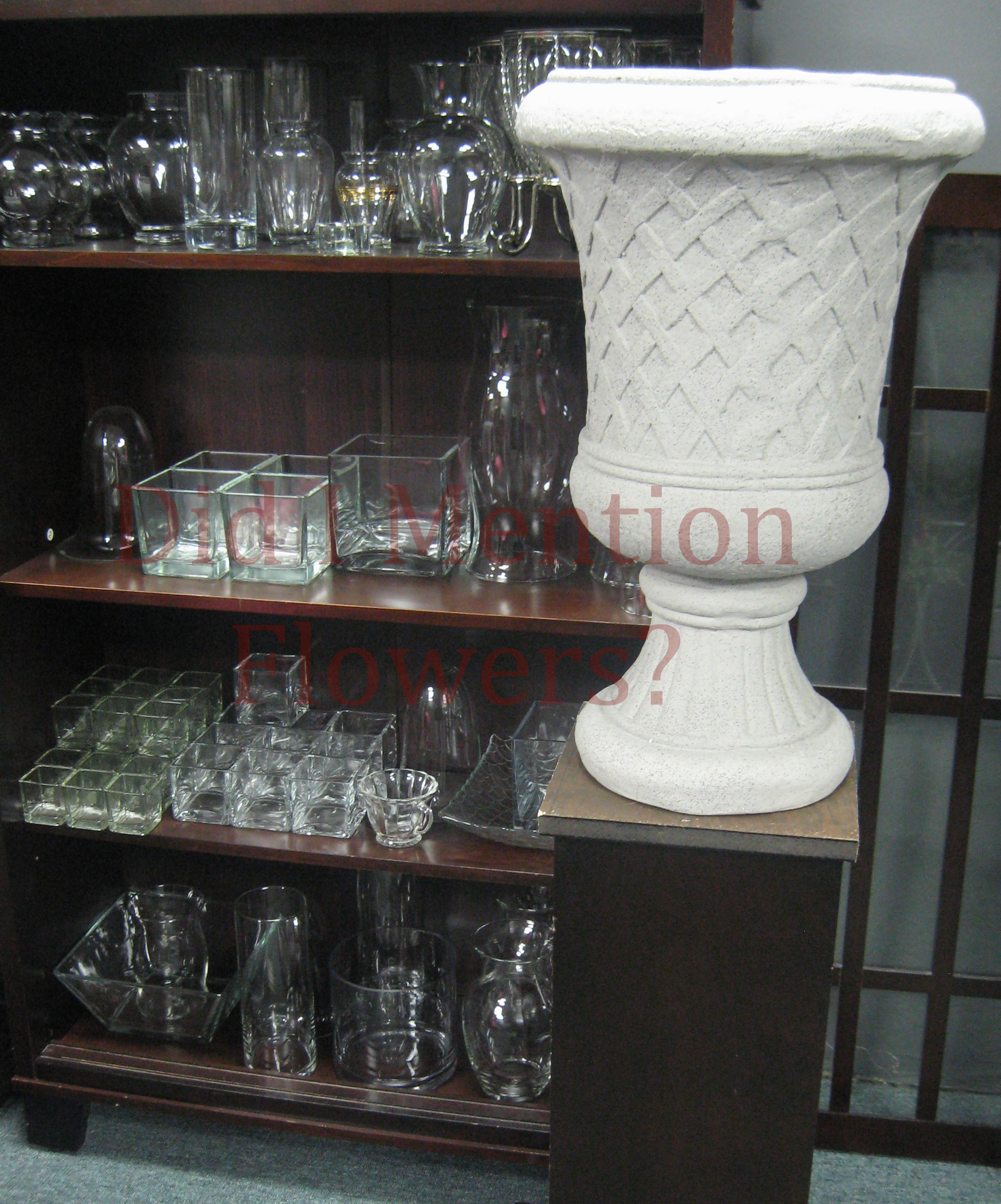 1 - Glass Vases