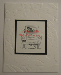 8 - Just Married Card