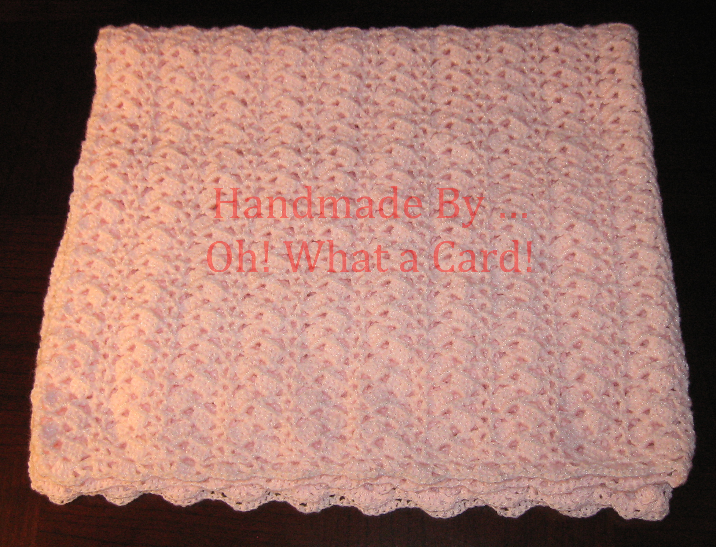 6 - Pink Baby Blanket