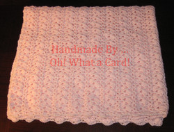 6 - Pink Baby Blanket