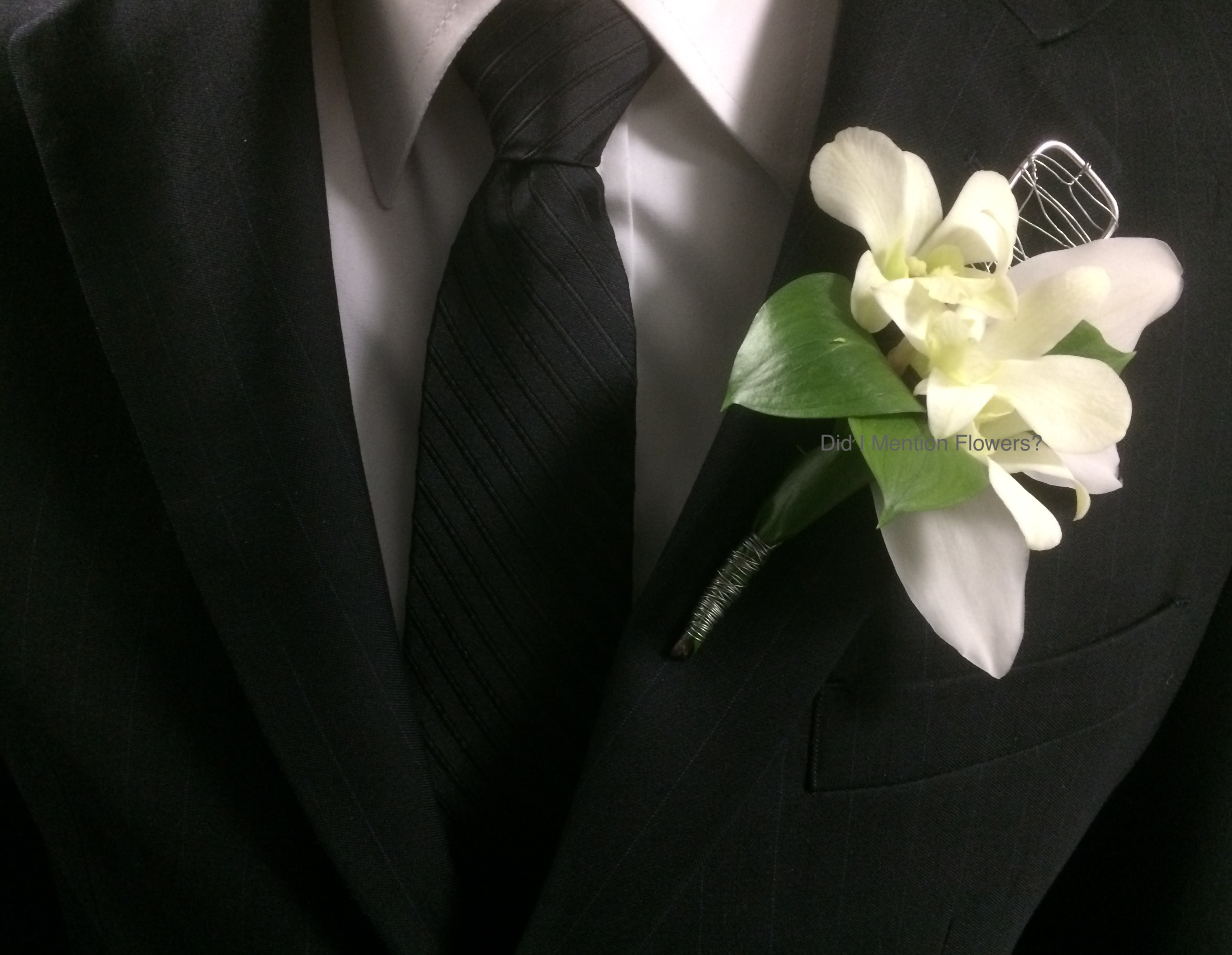 11 - Special Order Boutonniere
