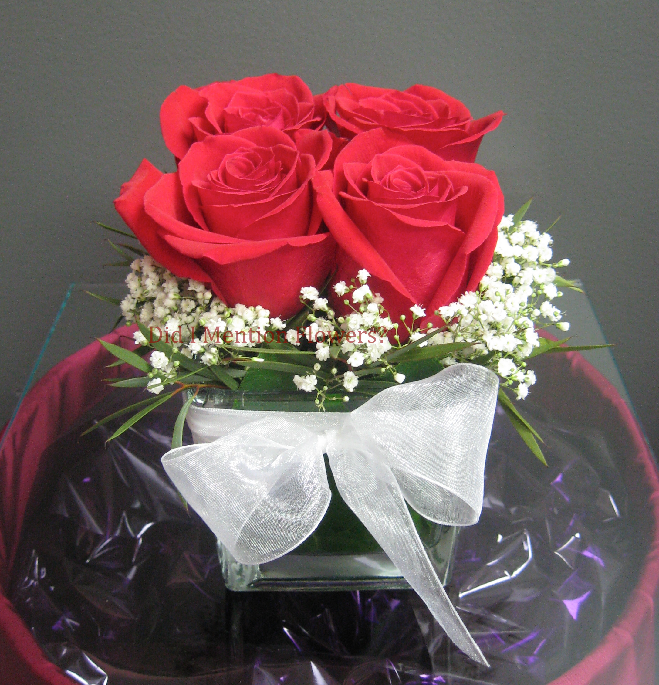 4 - Glass Vase Arrangement