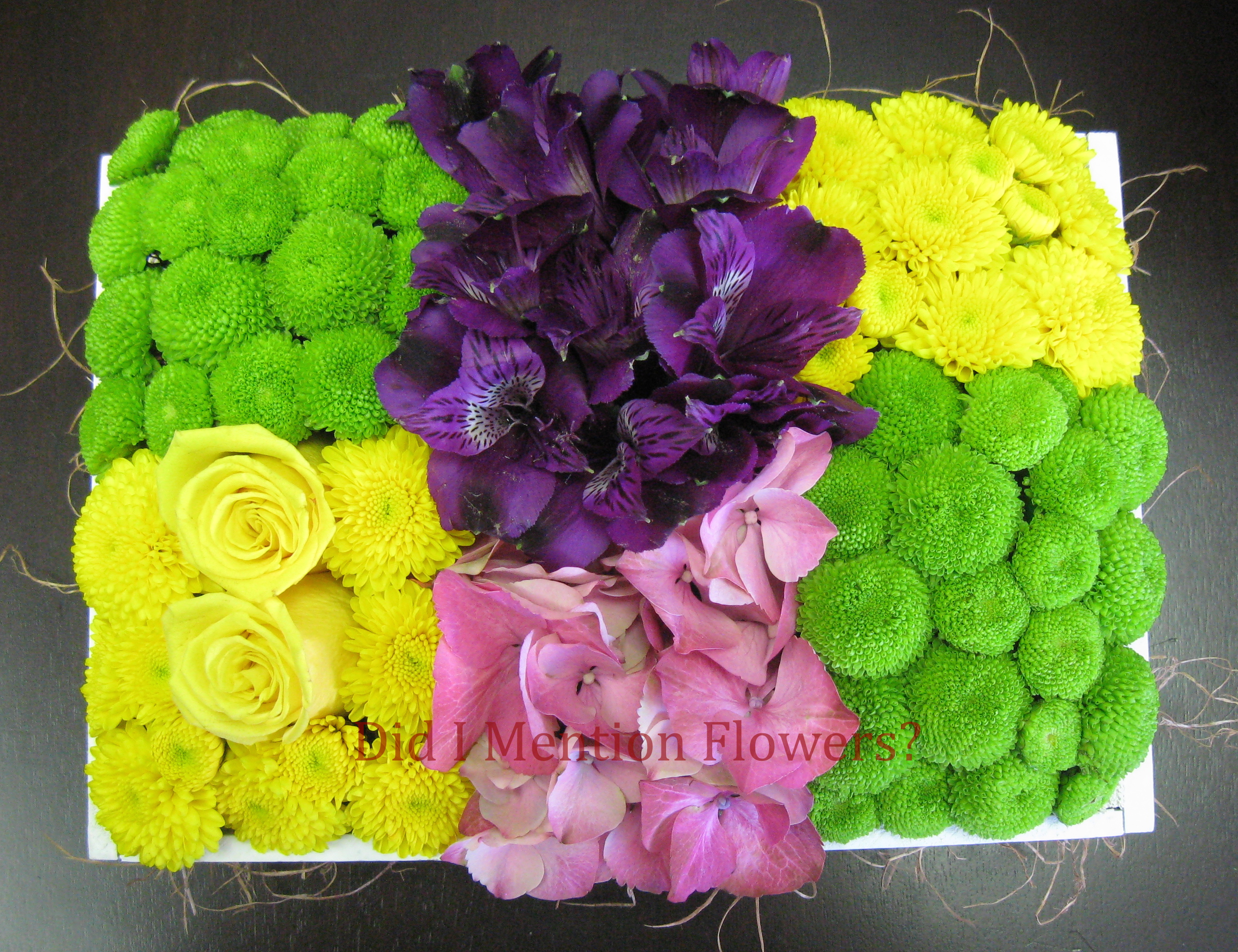 5 - Flower Garden Arrangement
