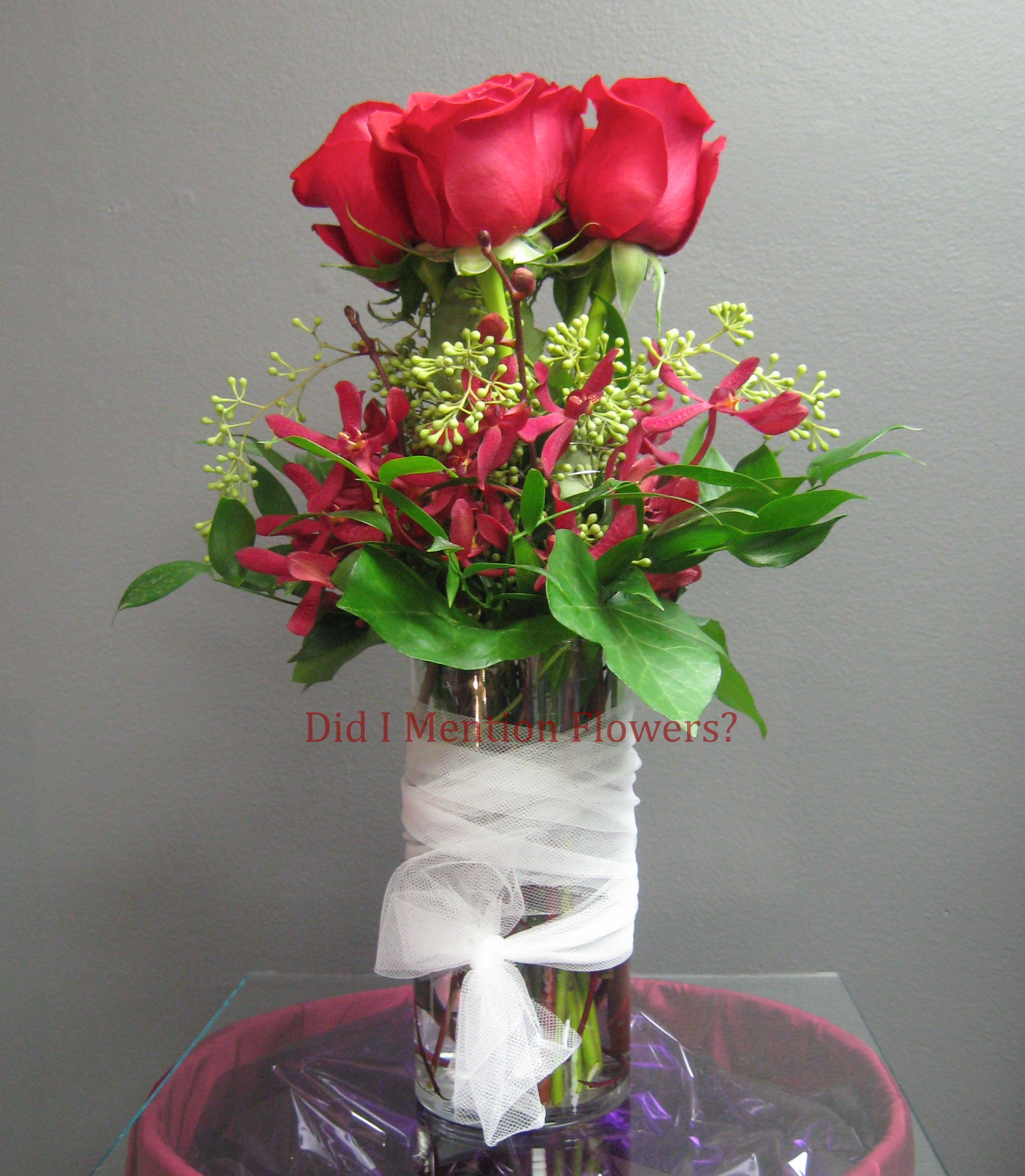 5 - Glass Vase Arrangement
