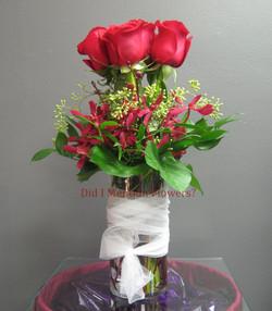 5 - Glass Vase Arrangement