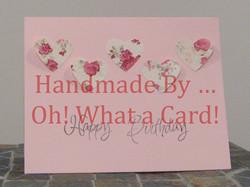 14 - Birthday Hearts Card