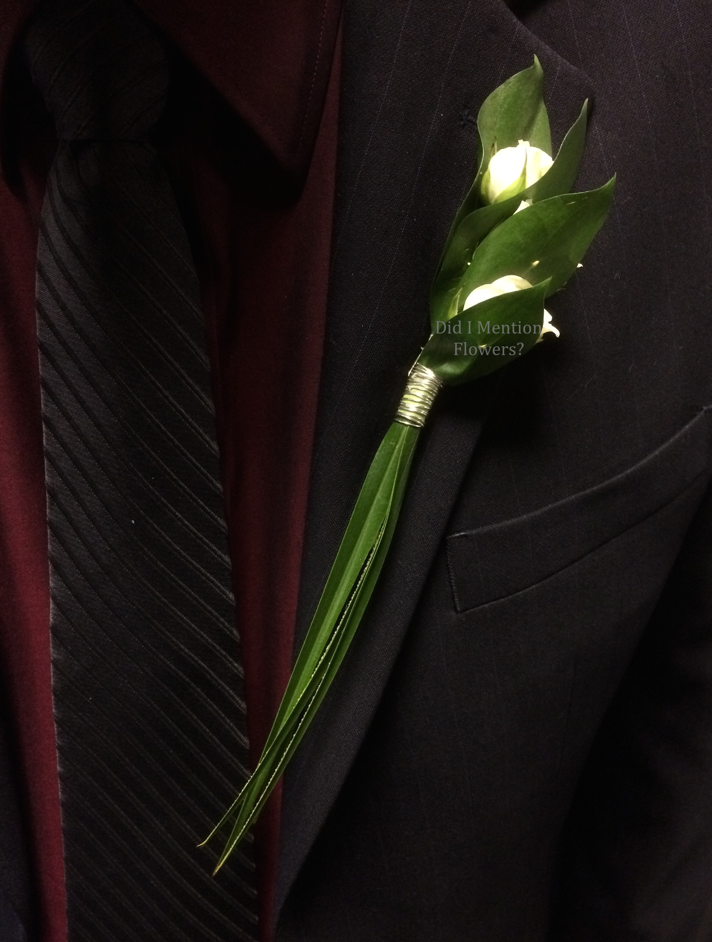 15 - Special Order Boutonniere