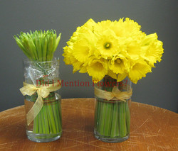 9 - Daffodils in a Glass Vase