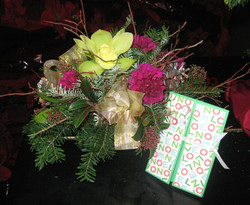 7 - Christmas Centrepiece with Card