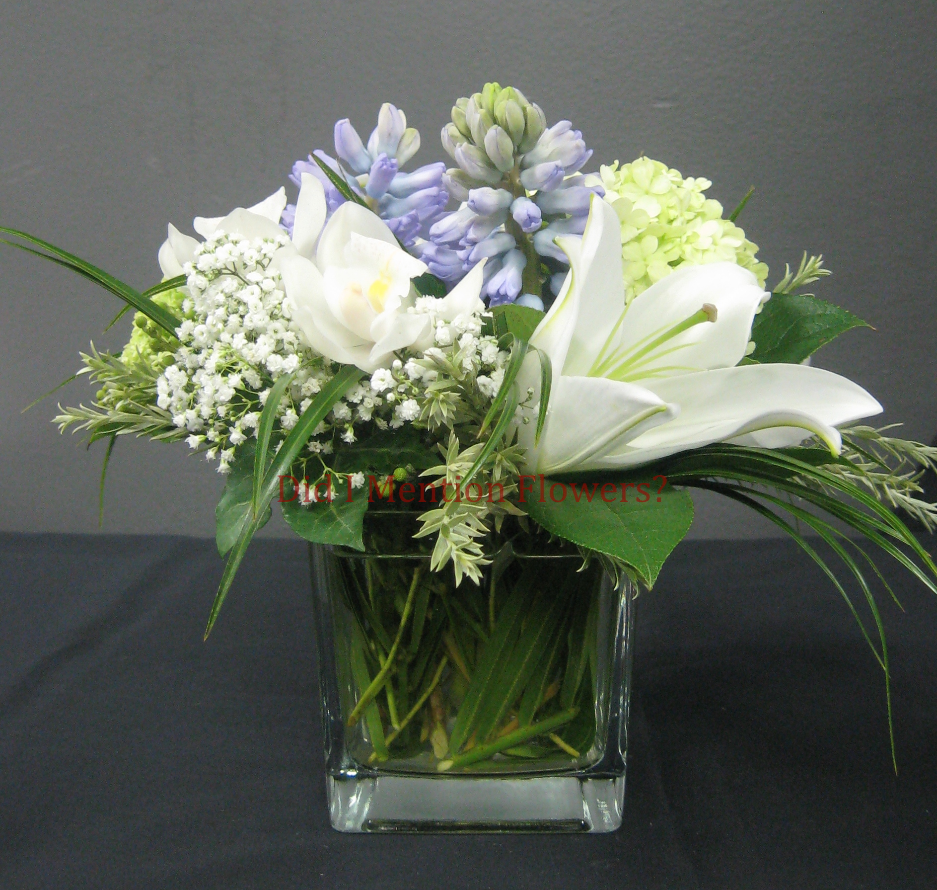 6 - Glass Vase Arrangement