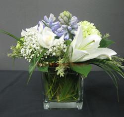 6 - Glass Vase Arrangement