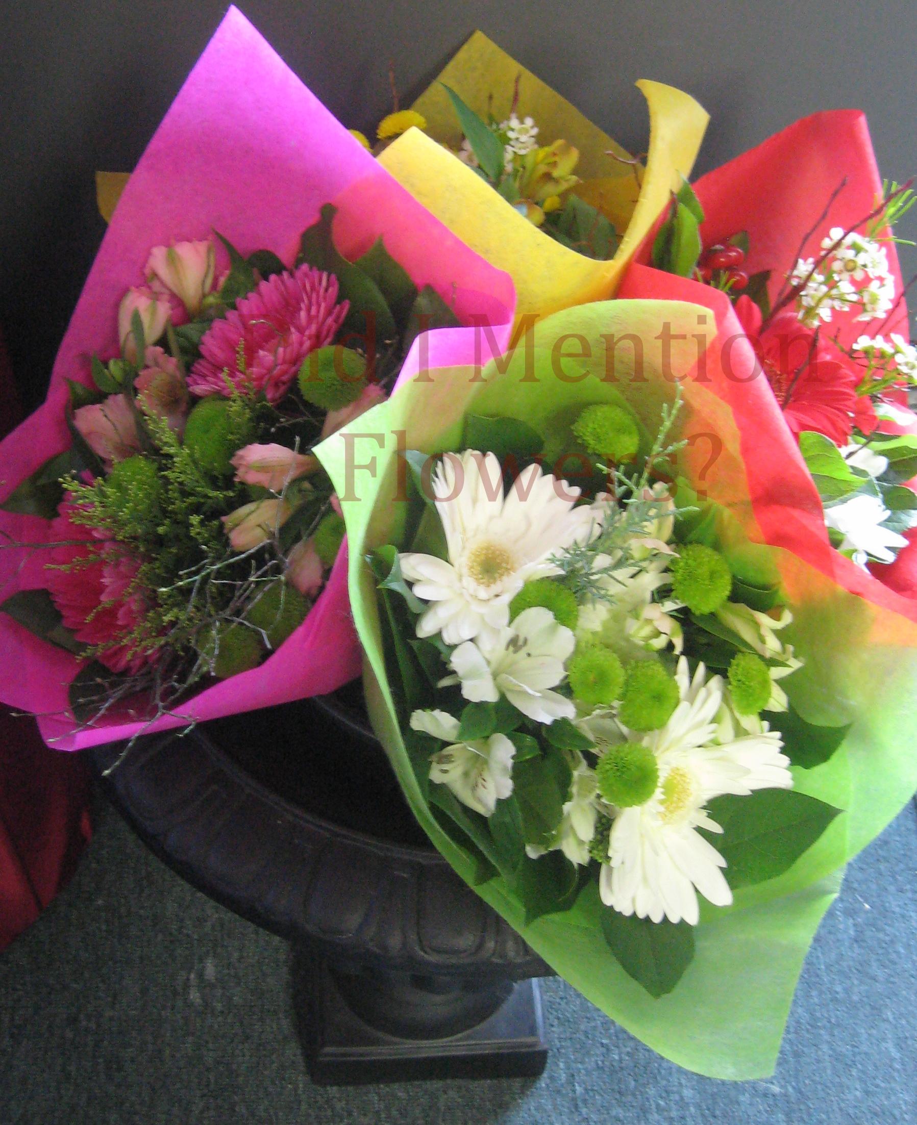 14 - Handtied Bouquets