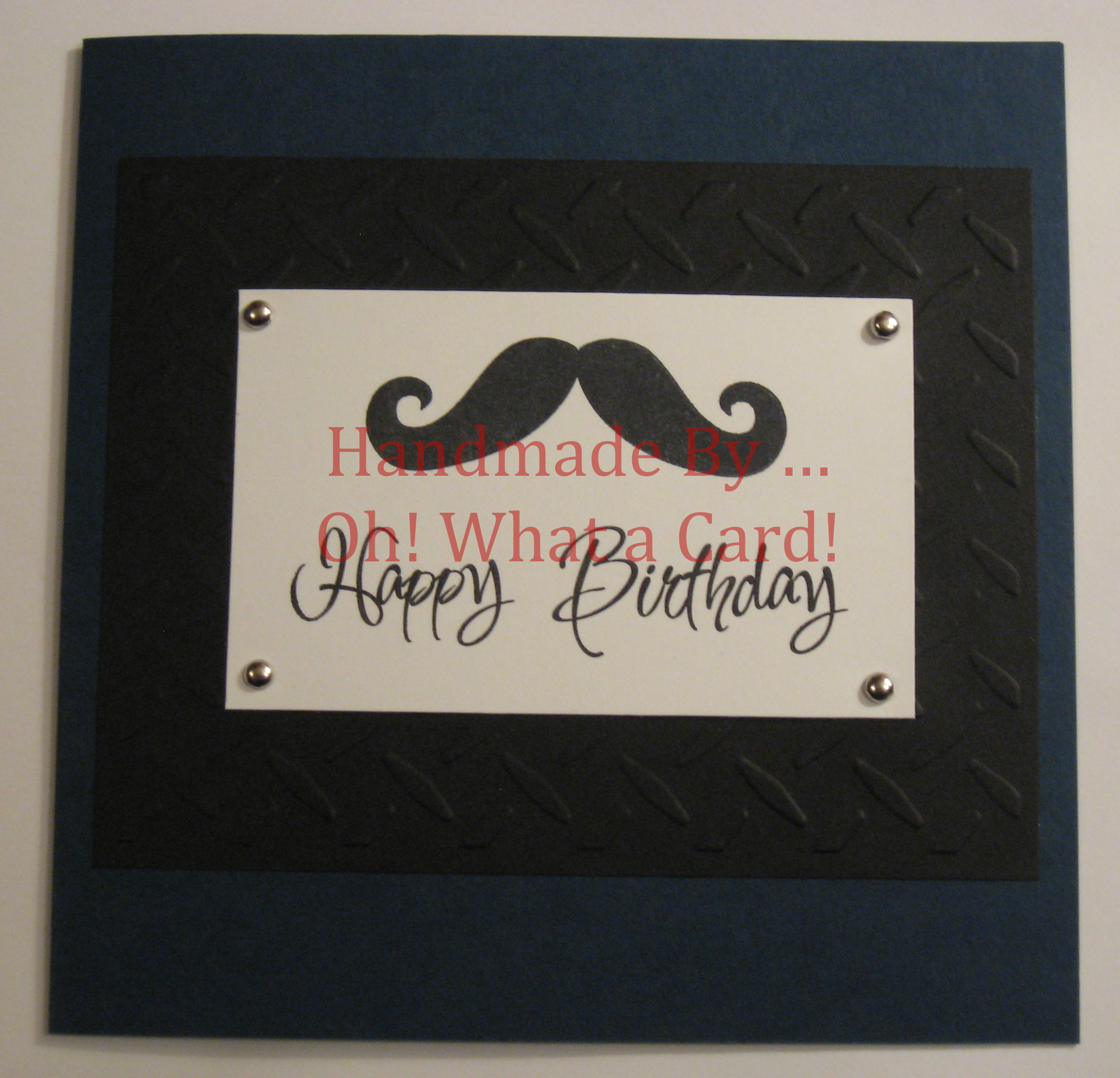 1 - Gentleman's Birthday Card