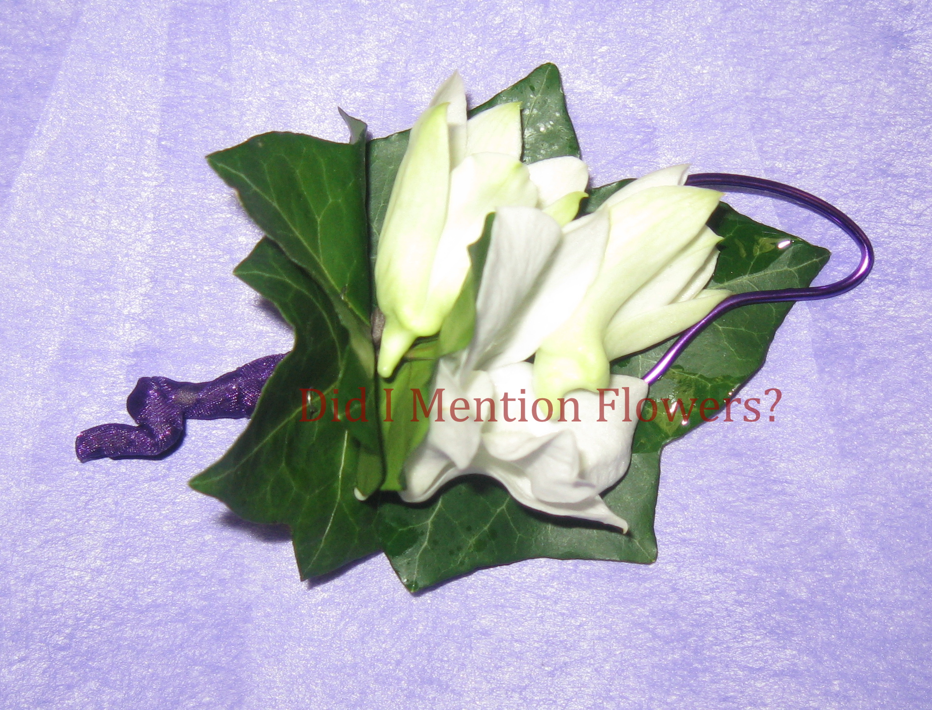 20 - Special Order Boutonniere