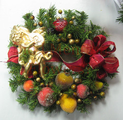 3 - Small Artificial Wreath