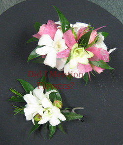 7 - Boutonniere and Wristlet Corsage