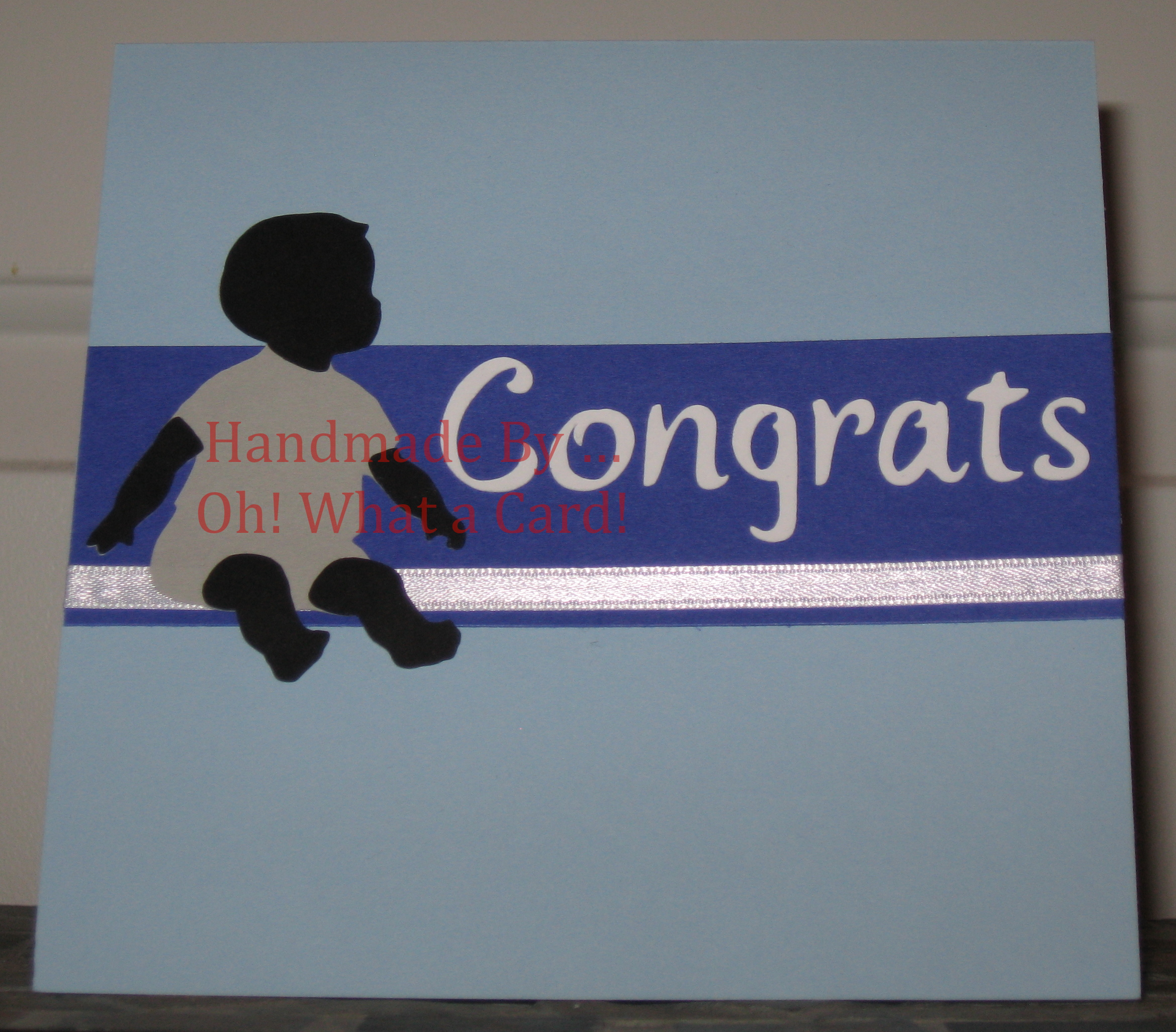 5 - Baby Congrats - Blue Card