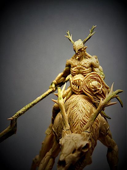 Syrius monté sur Hell Deer