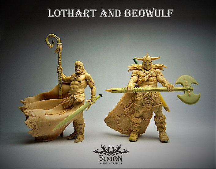 Lothart et Beowulf