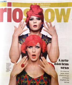 Capa do RioShow - Jornal O Globo