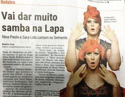 Matéria no Jornal O Fluminense