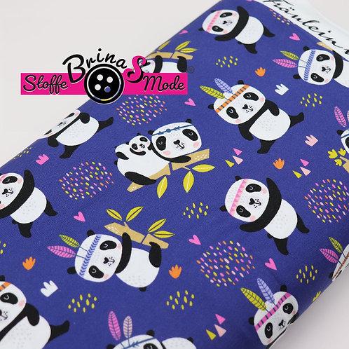 Jersey Stoff - Panda