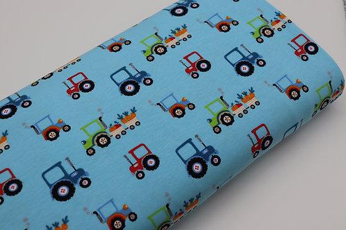 Jersey Stoff - Traktor