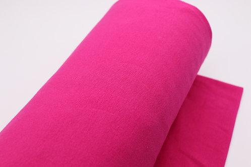 Bündchen Stoff - Pink Uni
