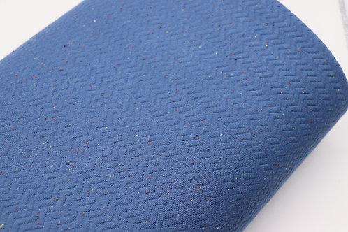 Steppstoff - Blau wattiert
