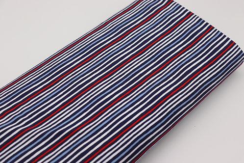 Jersey Stoff - Streifen